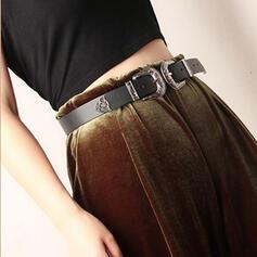 Women's Beautiful/Elegant/Unique/Simple/Exquisite/Eye-catching/Romantic/Vintage/Metal Buckle Alloy/Faux Leather Belts