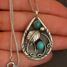 Attractive Charming Elegant Artistic Delicate Alloy With Minimalist Ladies' Necklaces