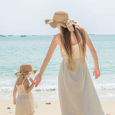 Ladies'/Child's/Women's Beautiful/Classic/Elegant Polyester Beach/Sun Hats