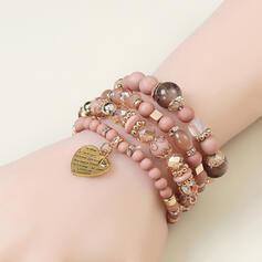 Fashionable Alloy Resin With Snake Design Women's Bracelets 4 PCS