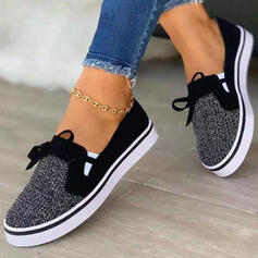 Women's Cloth Mesh Flat Heel Flats Round Toe Espadrille Sneakers With Hollow-out shoes