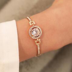 Shining Beautiful Alloy Zircon Women's Bracelets