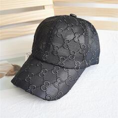 Women's Elegant/Charming/Artistic Mesh With Flax Baseball Caps