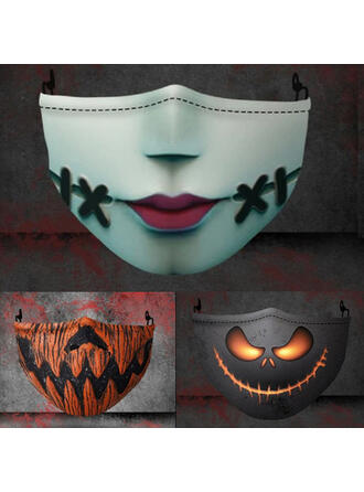 Acrylic Halloween Props Mask Face Masks (Sold in a single piece)
