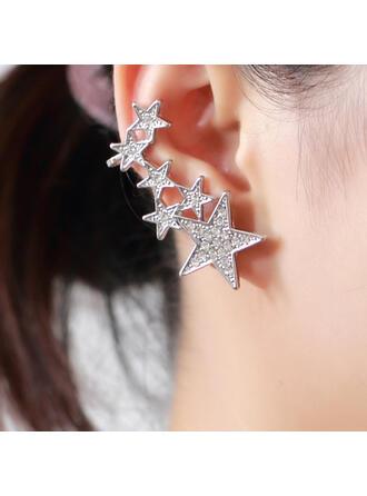 Pretty Fancy Delicate Star Alloy Women's Earrings 1 PC