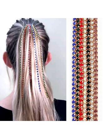 Unique Fashionable Elegant Alloy With Metal Chain Décor Women's Ladies' Girl's Hair Accessories 7 PCS