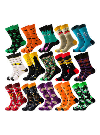 Print Crew Socks Socks