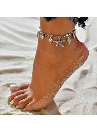 Starfish Hottest Shell Shaped Alloy Beach Jewelry Anklets