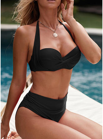 Push Up Halter Sexy Bikinis Swimsuits