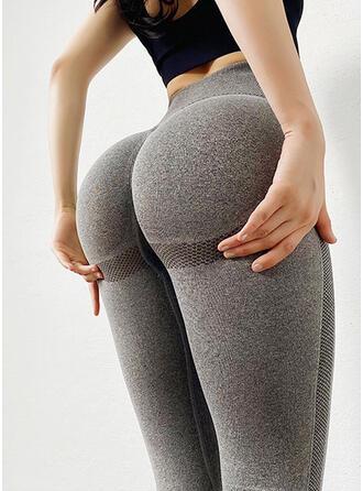 Spandex Nylon Chinlon Plain Yoga/fitness pants Sports underwear